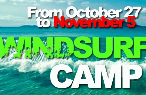 windsurfing camp Cyprus